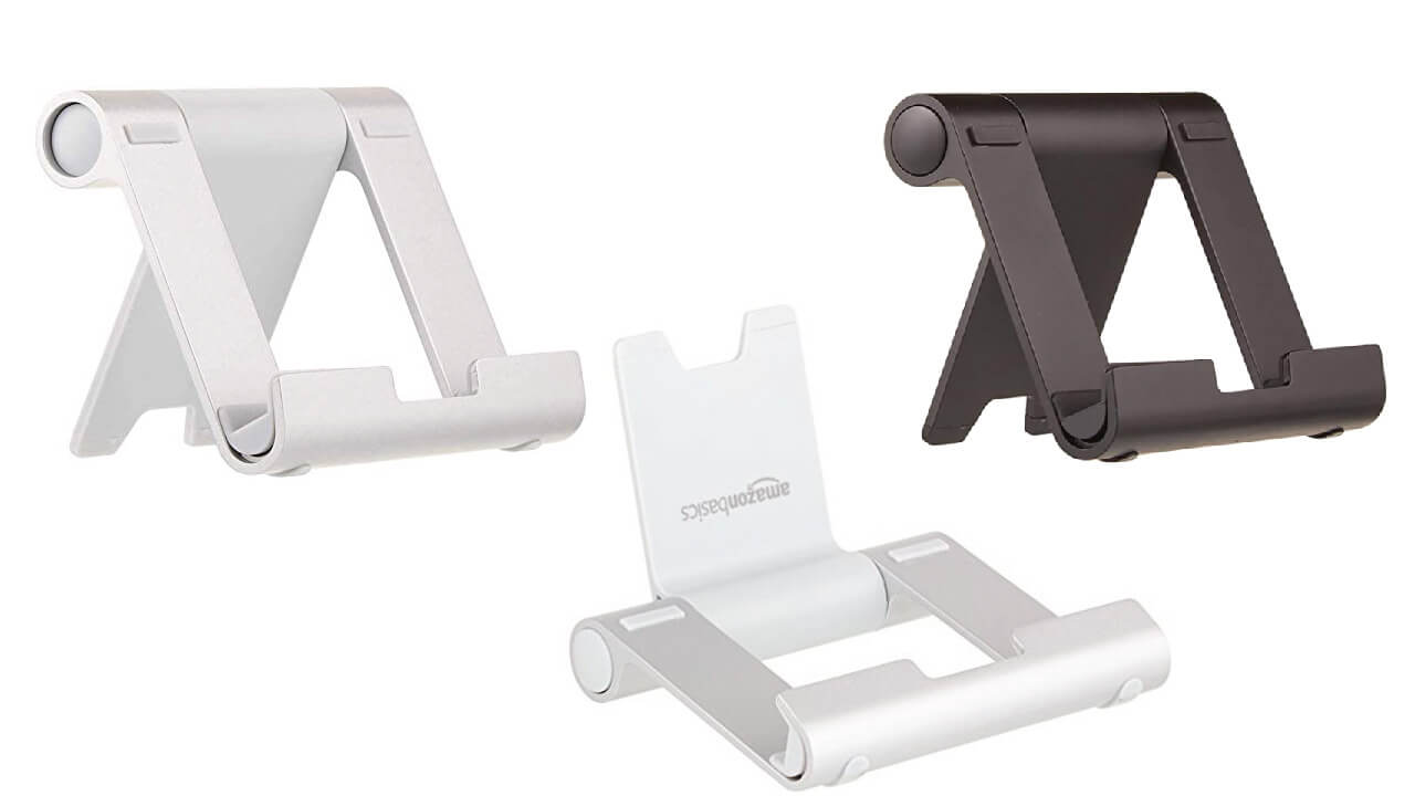 Multi Angle Portable Black Stand for tablets