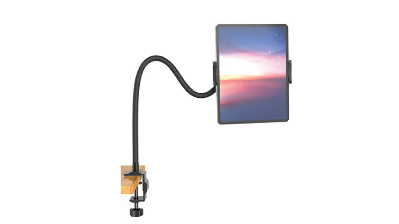 Aluminum, Flexible, Adjustable Universal Tablet Stand