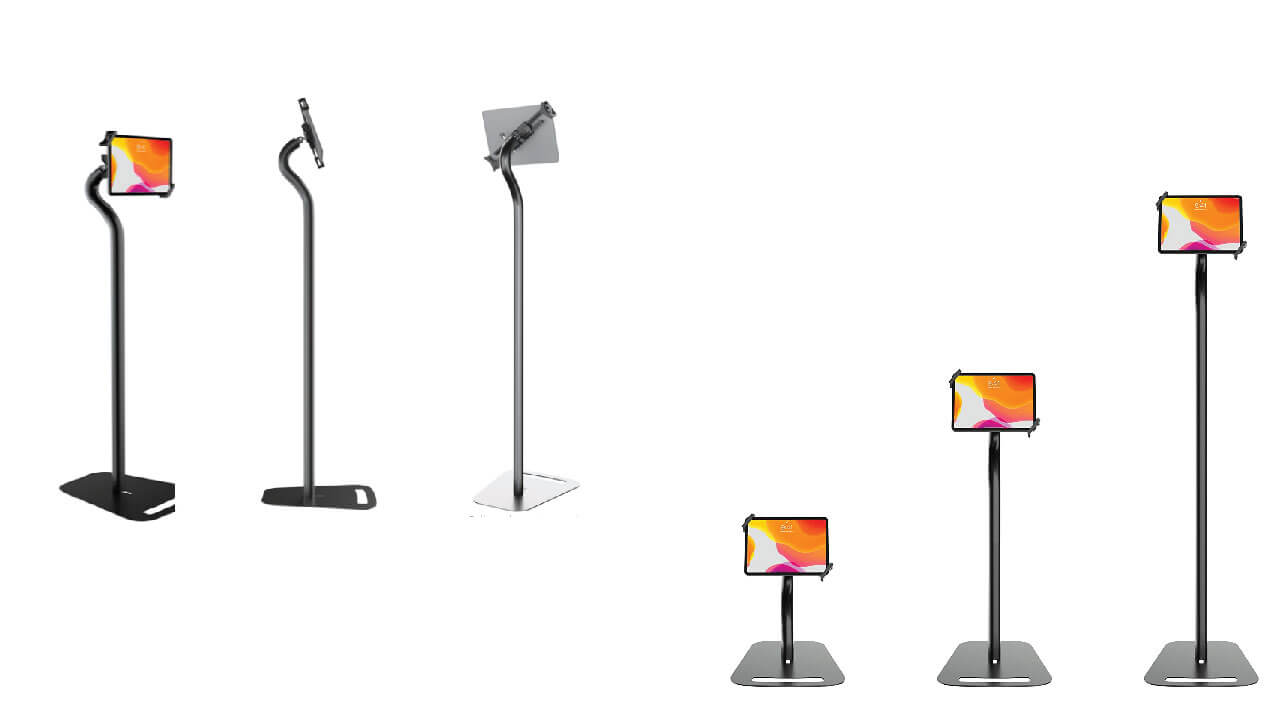 Premium height Adjustable Security Kiosk Stand for Tablet Stand and Holder