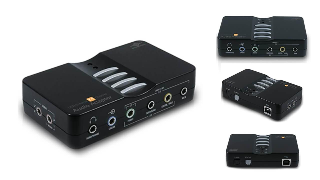 Vantec USB External Audio Adapter