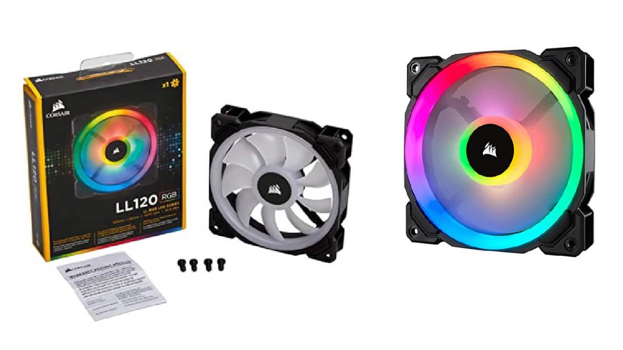 Corsair LL Series 120mm RGB LED Cooling Fan