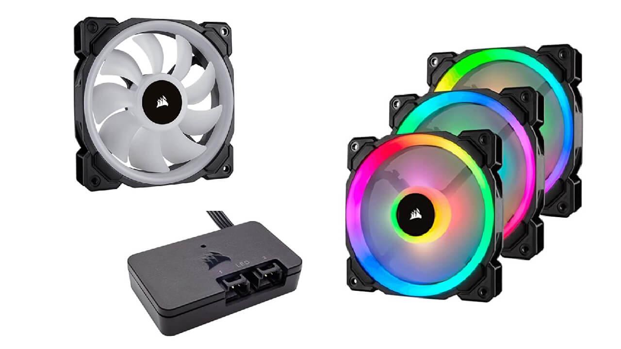 Corsair LL Series LL120 RGB 120mm Dual Light Cooling Fan